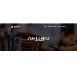 Page Heading